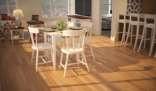 โต๊ะอาหาร 4ที่นั่ง สีขาว