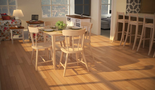 โต๊ะอาหาร 4ที่นั่ง สีไวท์วอซ