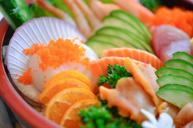 รับถ่ายเมนูอาหารญี่ปุ่น ซูชิ ซาชิมิ